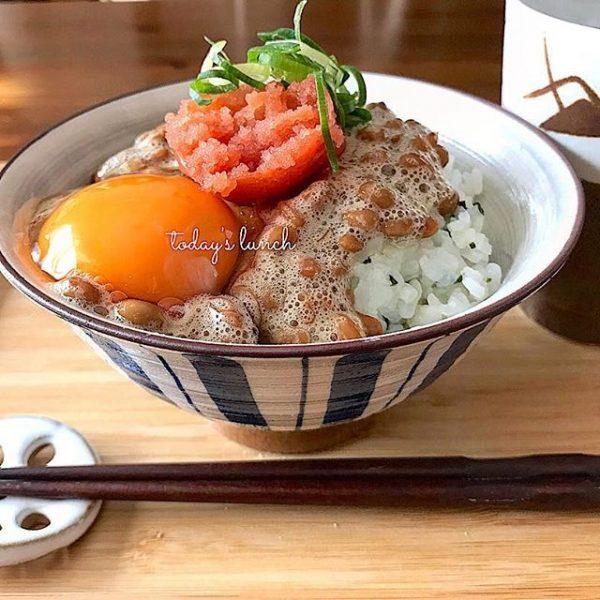 納豆の大量消費レシピ!明太子納豆ご飯