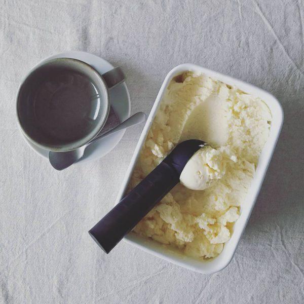 無添加の自家製アイスクリーム