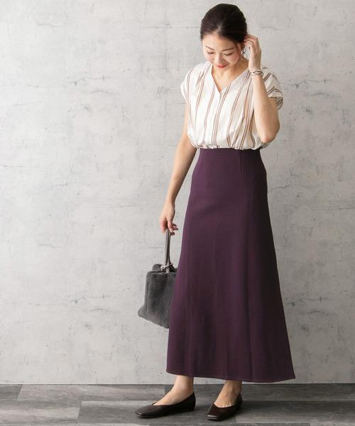 [URBAN RESEARCH ROSSO WOMEN] スウェットロングスカート