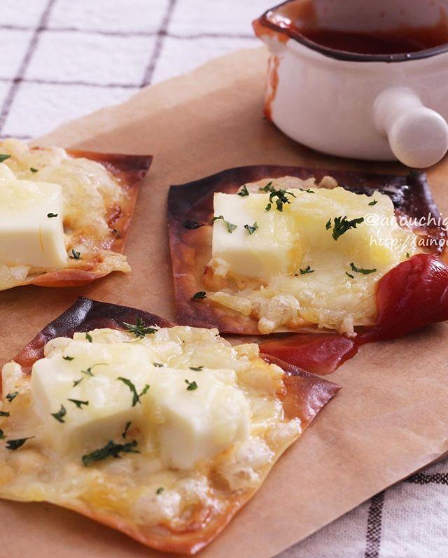 大量消費メニュー!めんマヨでワンタンチーズチップ
