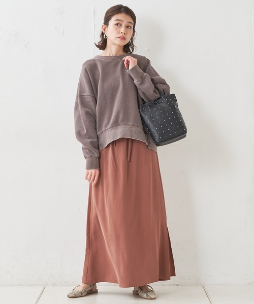 [CIAOPANIC TYPY] 微光沢イージーナロースカート