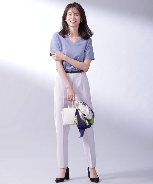 [nano・universe] Anti Soaked VネックTシャツ