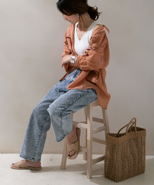 9月の東京におすすめのデニムの服装