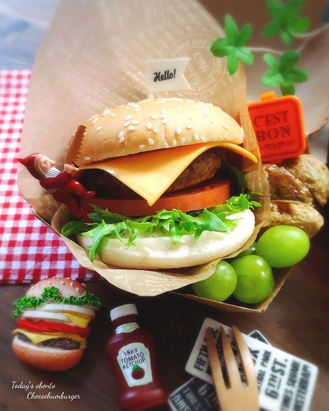 サンドイッチのお弁当☆人気レシピ《ホットドック&バーガー》5