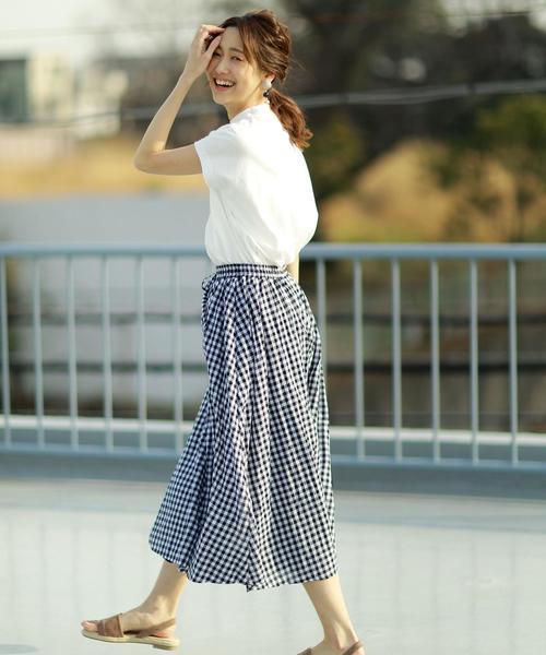 スカート おしゃれな着こなし術2