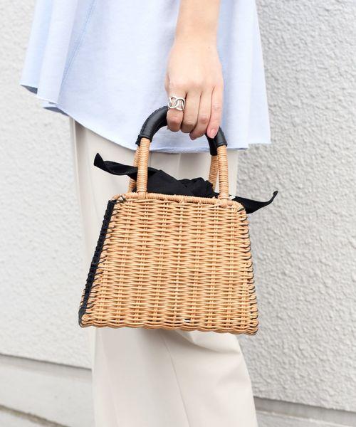 [SHIPS for women] 【別注】BAGMATI:バスケット S◇