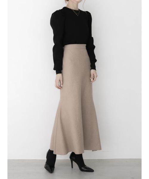 [A AMEL] ウールマーメイドスカート