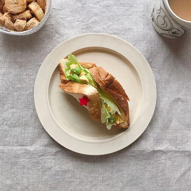 残りの食パンで大量消費!ツナと枝豆入り卵サンド