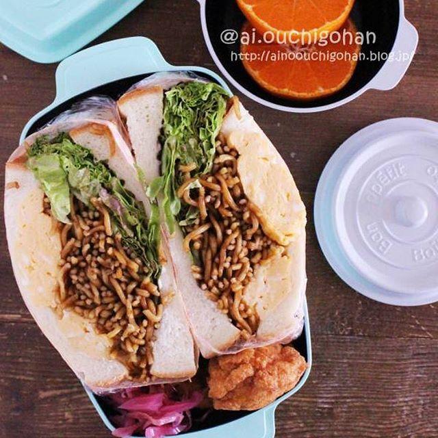 サンドイッチのお弁当☆人気レシピ《ボリュームサンド》4