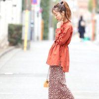 春はスカートがかわいい季節♡《無地・カラー・柄》スカートコーデ大集合!