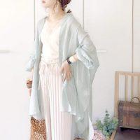 【連載】今一番のトレンド!大人な透け感「シアーシャツ」の春コーデ
