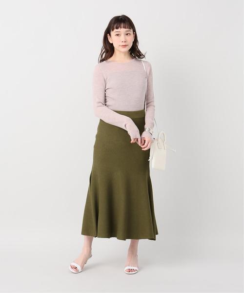 [Plage] WO/RY マーメイドスカート◆