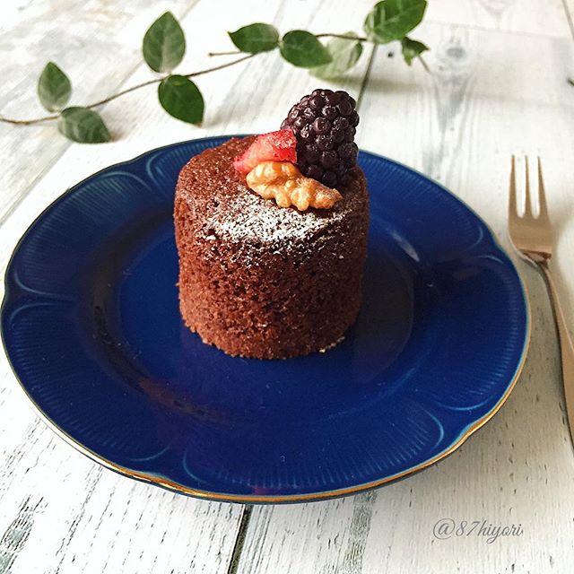 小麦粉を大量消費!ブランデーショコラケーキ