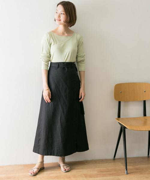 [URBAN RESEARCH] リネンサロンスカート