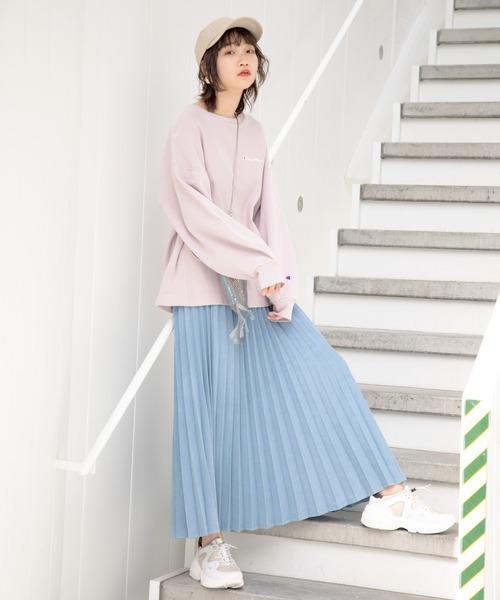 [ROSE BUD] (GENE HEAVENS)プリーツデニムスカート
