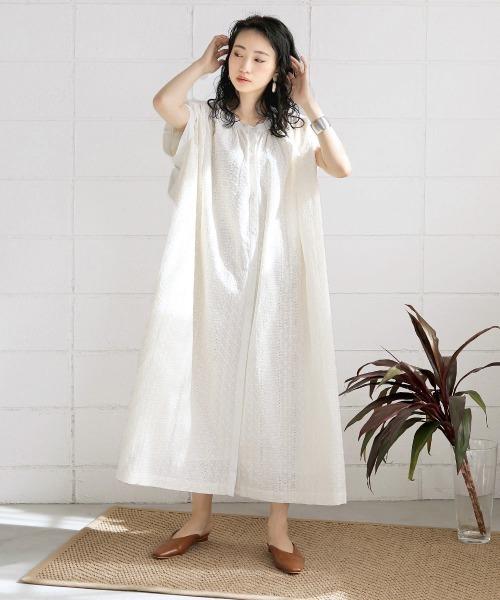 [Bou Jeloud] Made in INDIA◆【WEB限定】総刺繍ワンピース/ボリュームロングワンピース