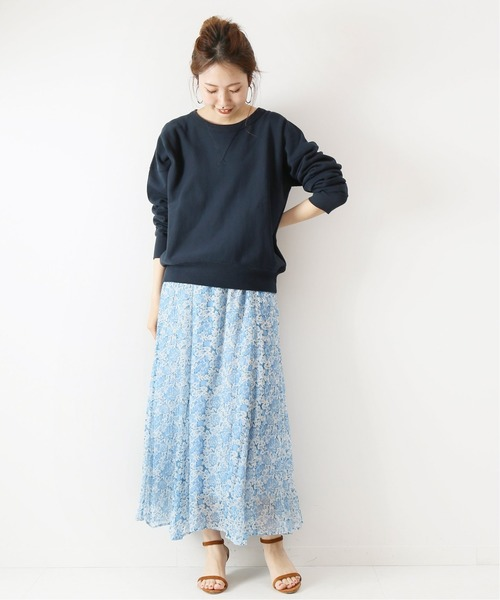 [Spick & Span] 【ne Quittez pas】別注ジョーゼットスカート◆