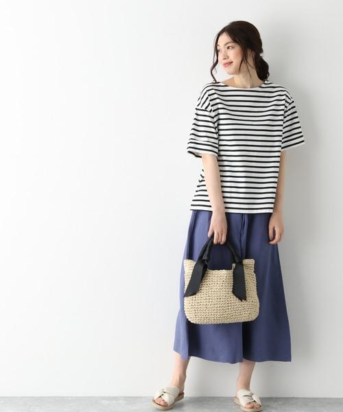 ビックTシャツ×スカーチョの服装