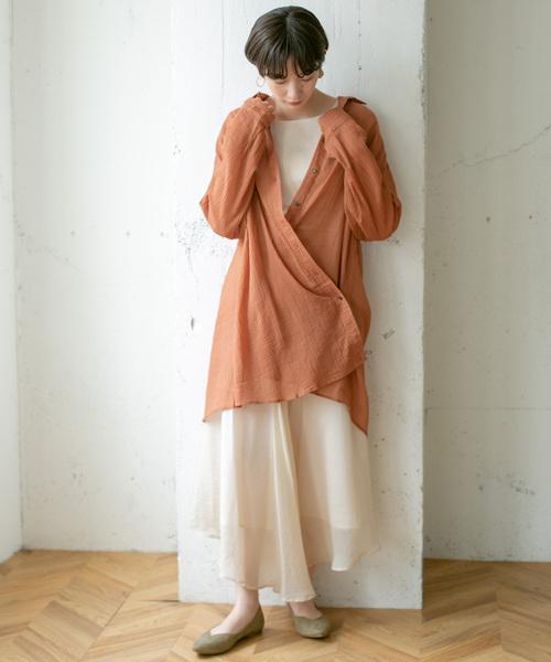 ナチュラルな9月の東京の服装