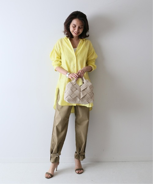 [Spick & Span] FRENCH LINEN 2WAY シャツ◆