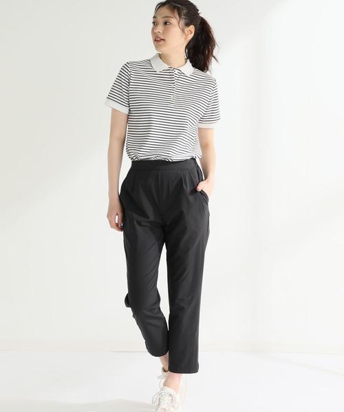 [Honeys] 半袖ポロシャツ