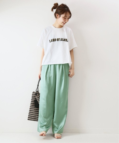 [Spick & Span] 【FUNG】 LAND OF ALOHA Tシャツ◆