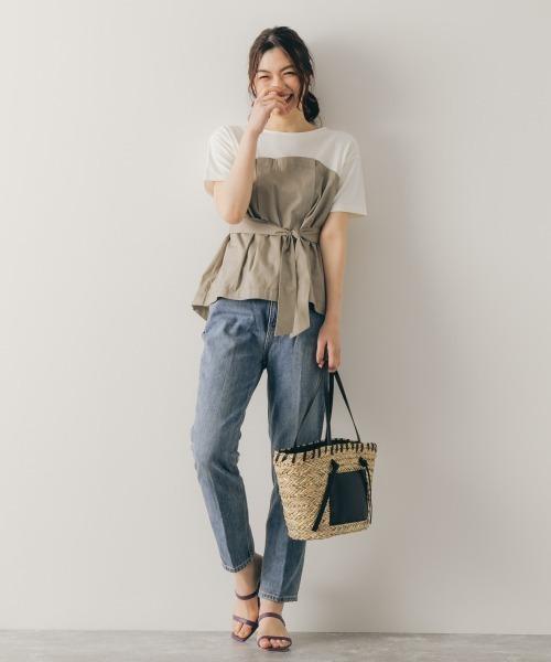 ビスチェT×パンツの服装