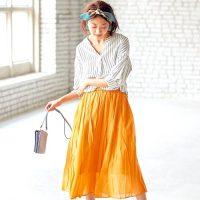 いかり肩さん向けファッション【2020】女性らしさをプラスできる着こなしテク