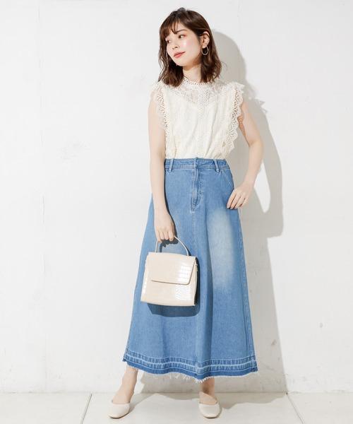 スカート お手本 レディースファッション