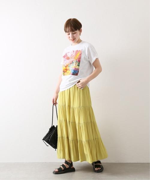 [JOURNAL STANDARD] 【COLLINA STRADA/コリーナ・ストラーダ】トリプルコラボ PHOTO Tシャツ◆