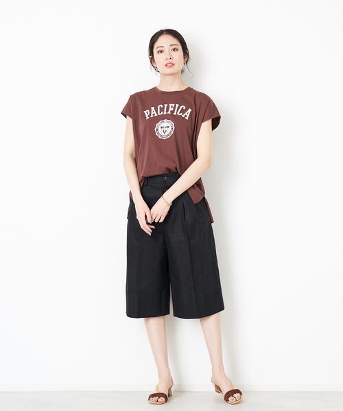 [Rouge vif la cle] 【MICA&DEAL】PACIFICAプリントTシャツ