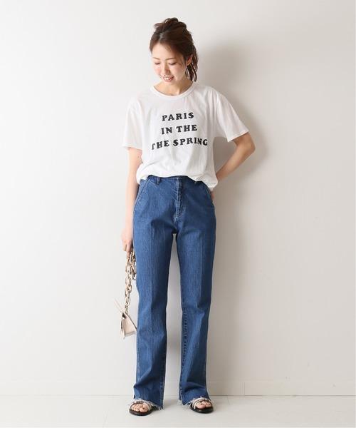 [Spick & Span] 【RXMANCE】 Paris Spring Tシャツ◆