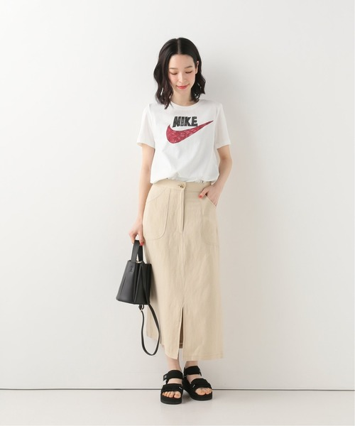 [IENA] 【NIKE / ナイキ】 アイコンクラッシュ グラフィックトップTシャツ