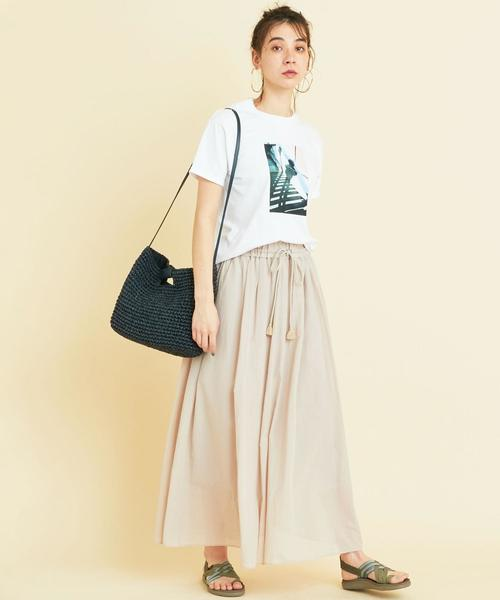 [BEAUTY&YOUTH UNITED ARROWS] BY∴ ペーパースクエアショルダーバッグ -2WAY-