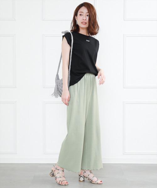 8月の金沢の服装《パンツ》3