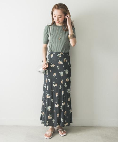 [URBAN RESEARCH] フラワーマーメイドスカート