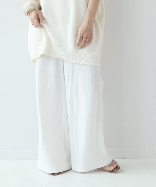 [Plage] Linen Bias パンツ◆d