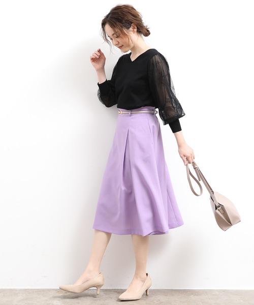 夏のガーリーコーデ《スカート》2