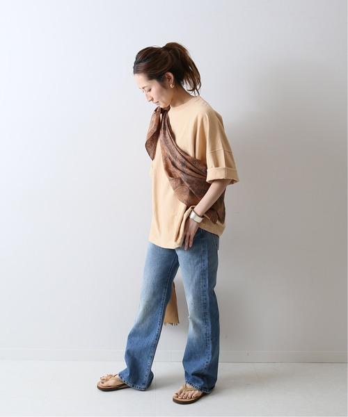 [Spick & Span] 【Champion】 別注製品染めReverse Weave-Tシャツ◆