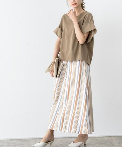 8月の金沢の服装《スカート》2