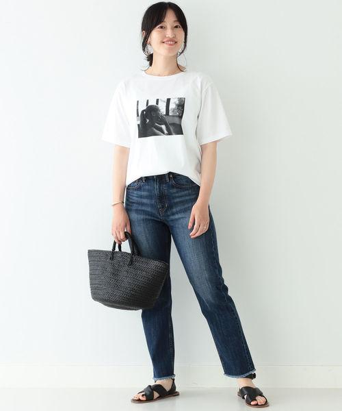 [BEAMS WOMEN] BEAMS LIGHTS / フォト Tシャツ