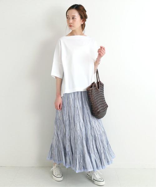 [IENA] 【MARIHA/マリハ】草原の虹のスカート◆