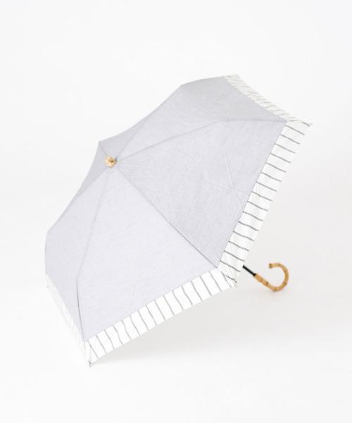 [nano・universe] w.p.c/別注 晴雨兼用傘ストライプ