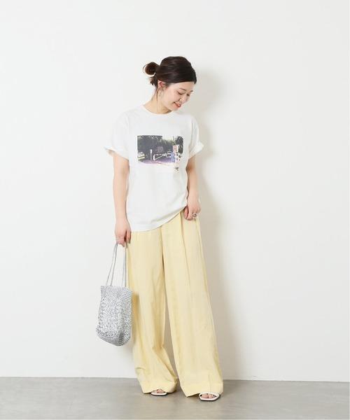 [JOURNAL STANDARD] フォトプリントTシャツ◆