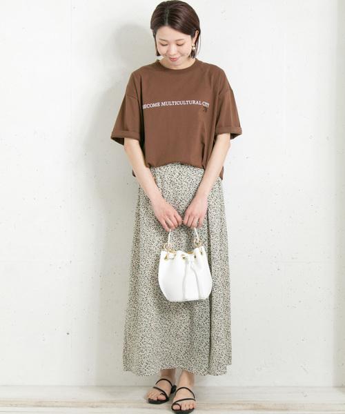 [URBAN RESEARCH] フロッキーロゴルーズTシャツ