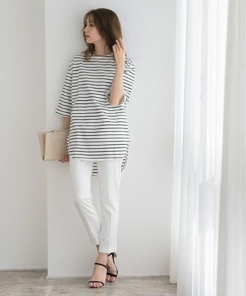 8月の金沢の服装《パンツ》