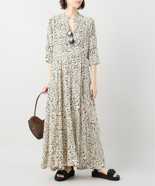 [JOURNAL STANDARD] 【BEACH GOLD/ビーチ ゴールド】BALI MAXI DRESS CARBO SAND LE:別注ワンピース