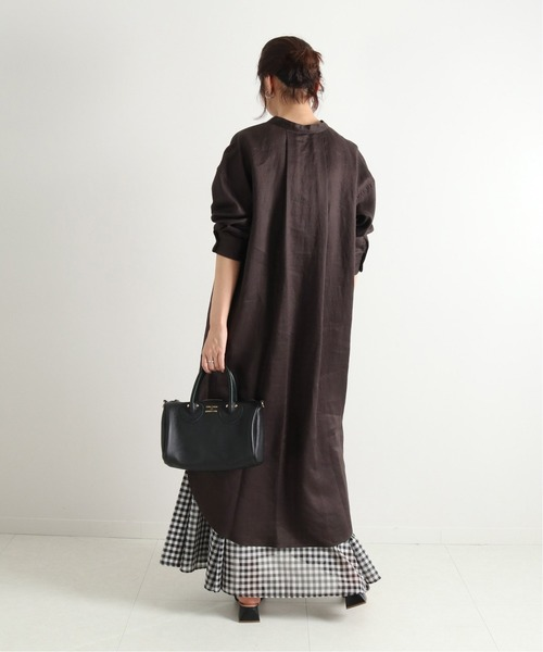 [Spick & Span] FRENCH LINENシャツワンピース2◆