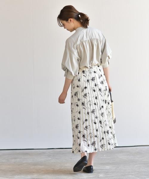 [rps] チューリップ柄スカート