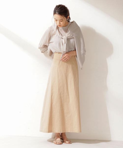 初夏 スカートスタイル